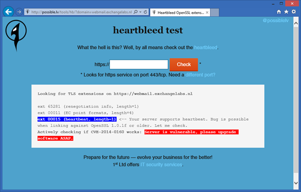 Heartbleed bug Patch Available for Kemp LoadMaster | Jaap Wesselius