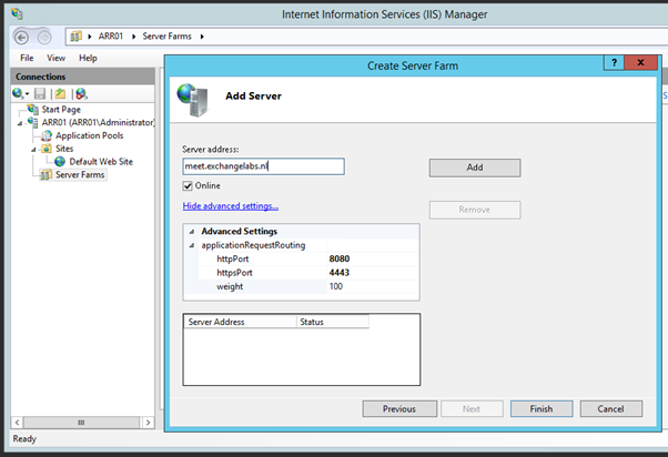 Using ARR for Reverse Proxy with Lync 2013 | Jaap Wesselius
