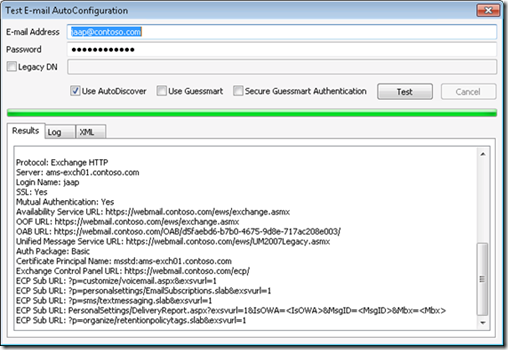 Exchange 2010 and Autodiscover Part II | Jaap Wesselius