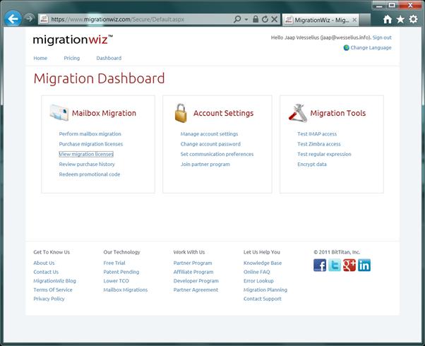 Binary tree migration tools