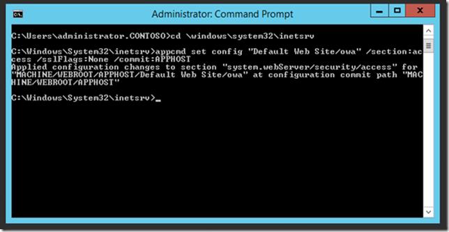 ssl offload exchange 2013