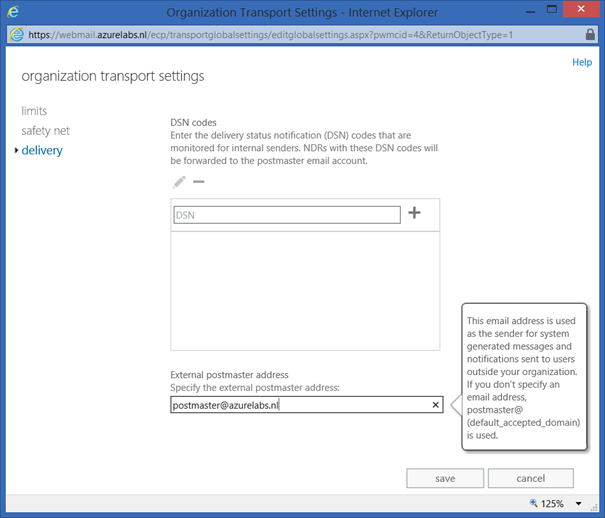 how to set email address in active directory