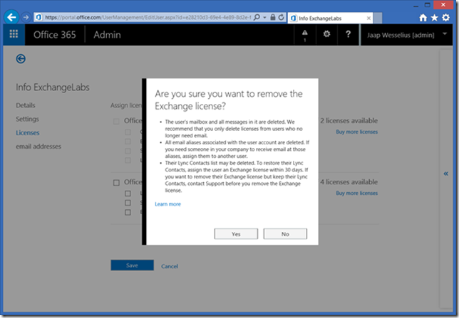 Shared Mailboxes in Office 365 | Jaap Wesselius
