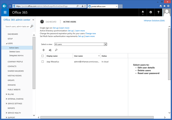 Add new users in office 365 using the microsoft online - Create account in office 365 ...