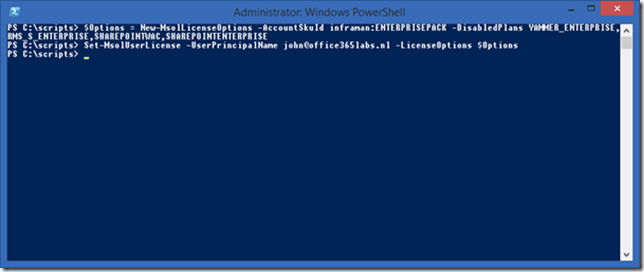 Manage users in Office 365 using PowerShell | Jaap Wesselius