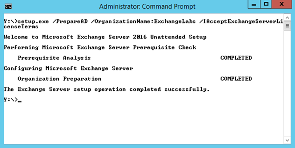 how to prepare ad for exchange 2016