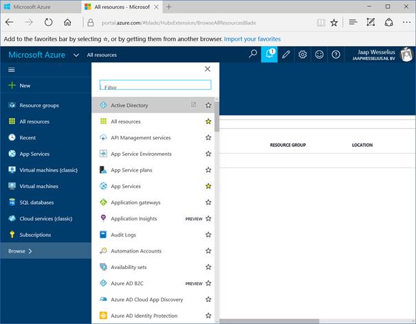 Upgrade to Azure Active Directory Premium | Jaap Wesselius