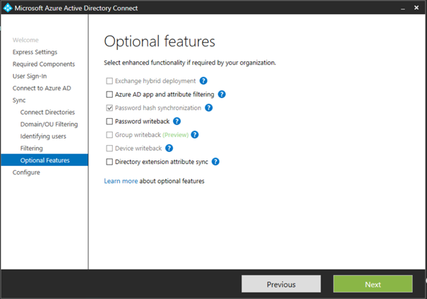 Office 365 Directory Synchronization without Exchange server