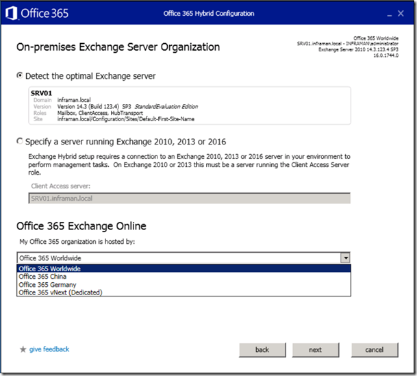 upgrade office 2010 to 2017