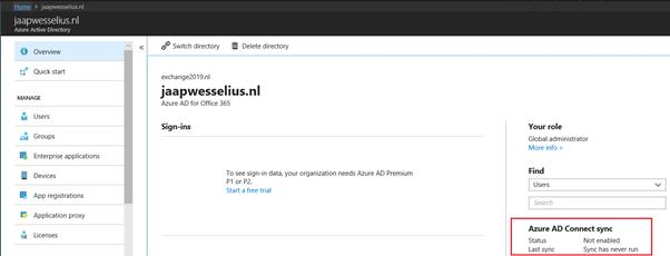 Directory Synchronization | Jaap Wesselius