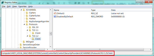 Outlook 2010 disconnected with TLS 1 2 | Jaap Wesselius