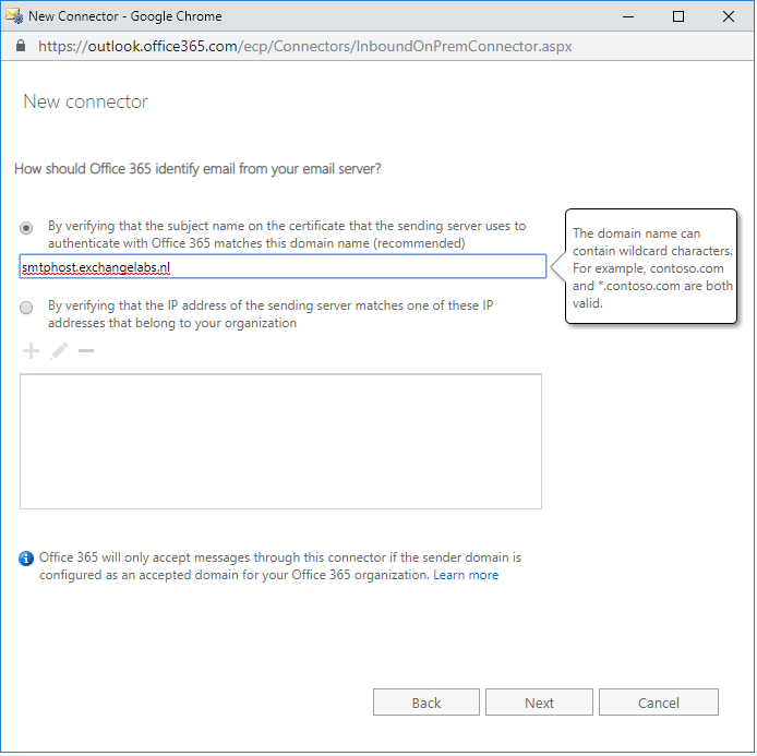 Implementing Exchange Online Protection for on-premises