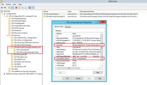 CN=Microsoft Exchange Autodiscover