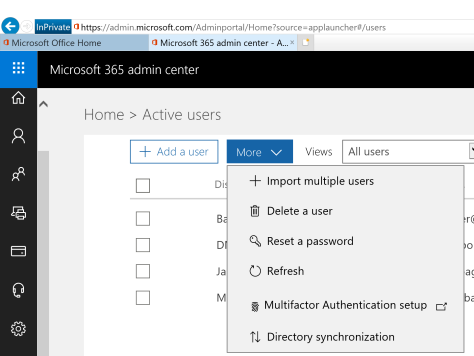 Implement Azure AD two-factor authentication for users