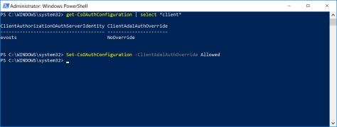 Set-CsOAuthConfiguration