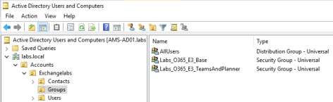License Security Group Active Directory